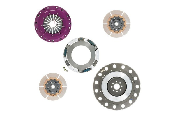 EXEDY Hyper Twin Disc Clutch Kit w/ Flywheel - 10 Spline Mustang (1996-2010)
