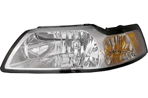 Mustang Headlight - Clear (99-04)