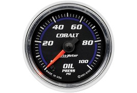 Autometer Cobalt Electric Oil Pressure Gauge