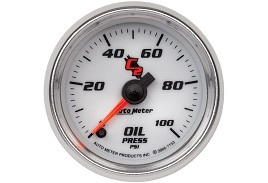 Autometer C2 Electric Oil Pressure Gauge