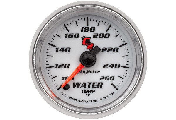 Autometer C2 Electric Water Temperature Gauge