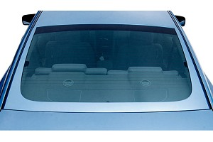 3D Carbon Mustang U-Shape Rear Window Trim (05-09)