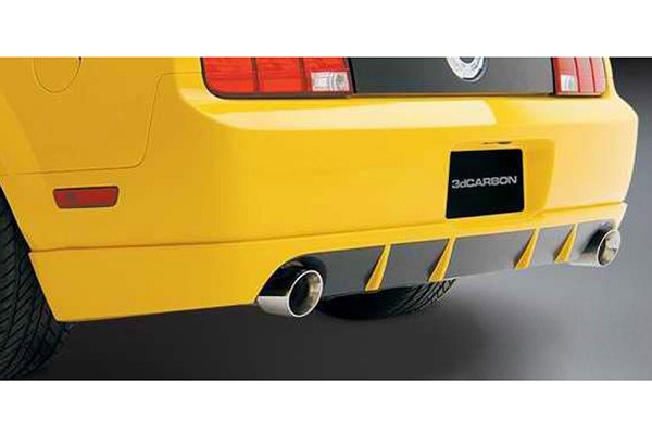 3D Carbon Mustang Rear Valance (2005-2009)