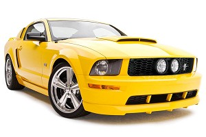 3D Carbon 4 Piece Mustang Body Kit (05-09 GT)
