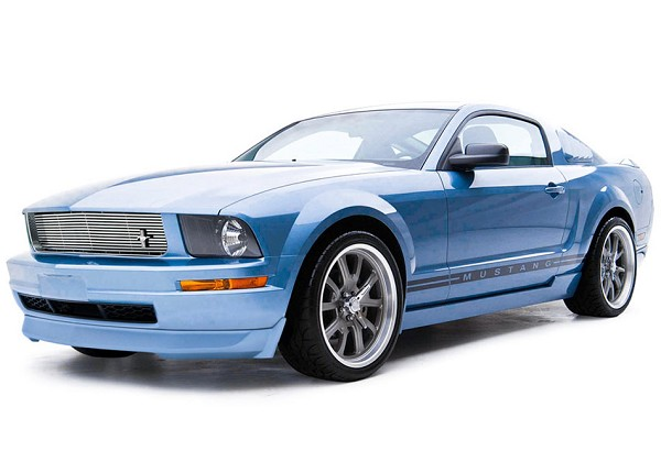 3D Carbon 4 Piece Mustang Body Kit (05-09 V6)