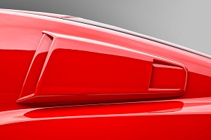 3D Carbon Mustang Type III Window Scoops (10-14)