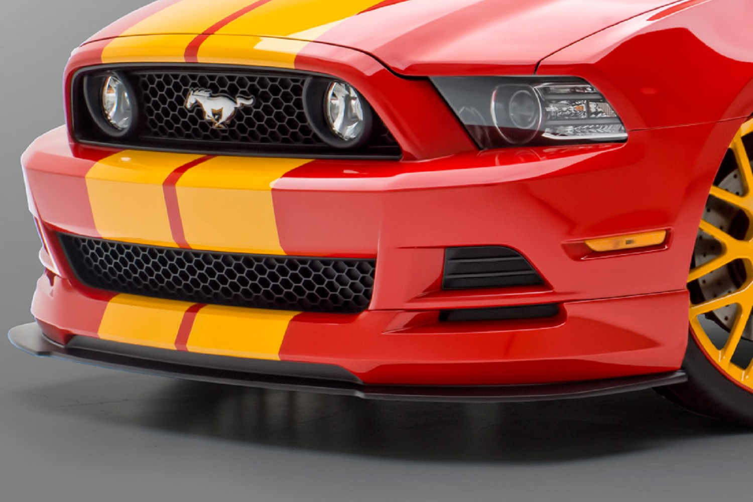 2013 Mustang Front Bumper >> 3d Carbon S197 Mustang Gt Front Lower Air Dam 2013 2014
