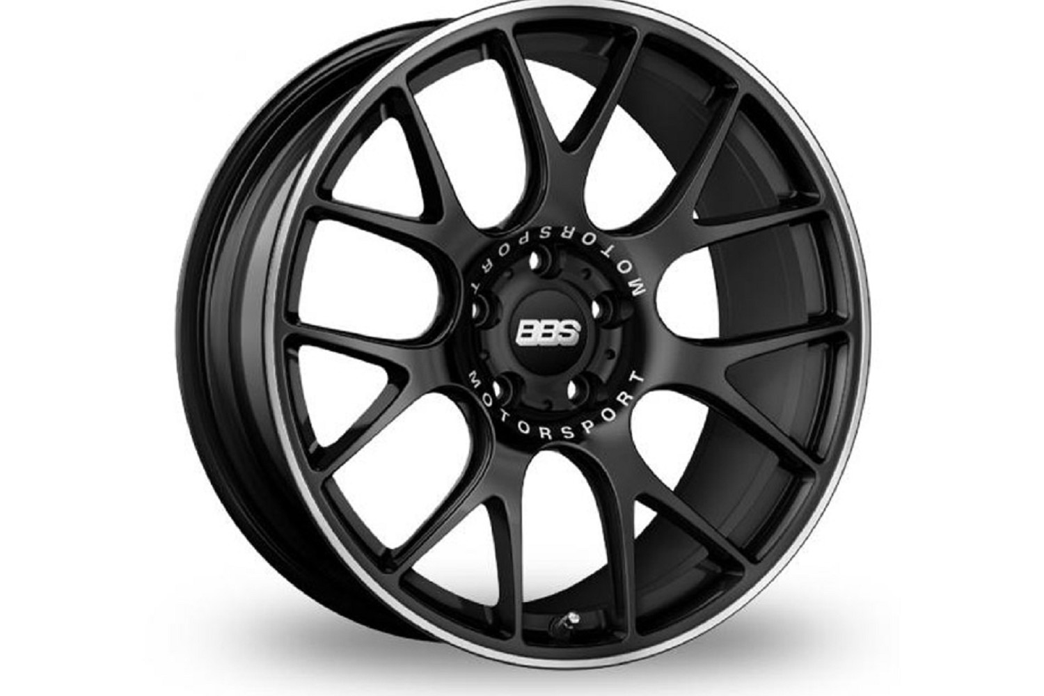 Bbs Ch R Ford Fusion Black Wheel W Polished Lip 20x85 13 14 2007 Cooling System