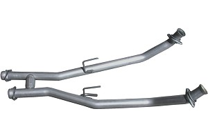 BBK Fox Body Mustang High-Flow Catless H-Pipe (86-93 5.0L)