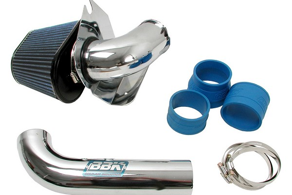BBK 5.0 Fox Body Mustang Cold Air Intake - Chrome (86-93)