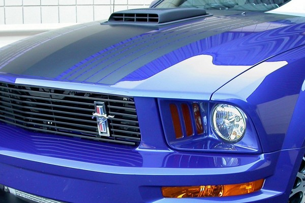 Classic Design Concepts Mustang Shaker Hood System (07-09 GT)