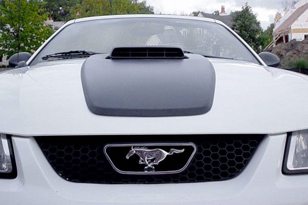 Classic Design Concept Mustang Shaker Hood System (99-04 GT)