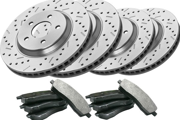 Steeda Focus Front and Rear Brake Kit (02-04 SVT)