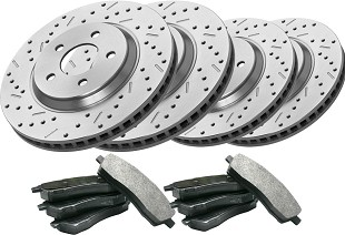 Brake Kits; Brakes; Steeda carries a selection of brake kits for the 2005-2007 Ford Focus. Increasing your Focus's horsepower and torque is great and all, but being able to stop when you need to is equally as important. Steeda offers a variety of brake components, including