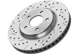 Xtreme Stop Mustang Front Driver Brake Rotor (07-12 GT500 & 12-13 Boss Brembos)