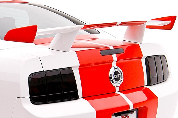 3D Carbon Mustang Boy Racer Wing (05-09 All)