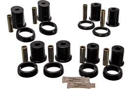 Energy Suspension Mustang Control Arm Bushings with Thrust Washer (83-98)