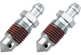 Russell Mustang Front Brake Speed Bleeders - Front (79-98 V8)