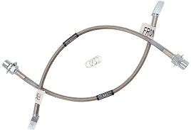 Russell Mustang Stainless Braided Brake Lines - Front (96-04 Cobra, 99-04 GT)
