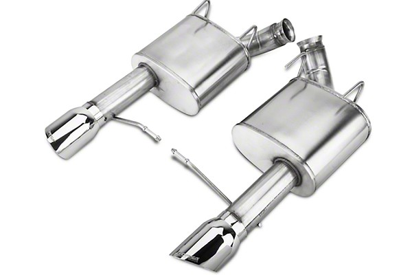 "Corsa Mustang 3"" Xtreme Axle-Back Exhaust Dual Rear Exit  4"" Polished Pro-Series Tips (11-14 GT/Boss)"