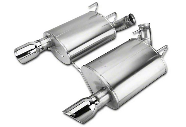 "Corsa Mustang 3"" Sport Axle-Back Exhaust Dual Rear Exit 4"" Polished Pro-Series Tips (11-12 GT500)"