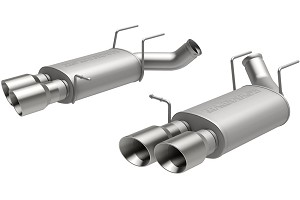 Magnaflow Mustang Street Axle-back Exhaust w/ Quad Tips (13-14 GT500)
