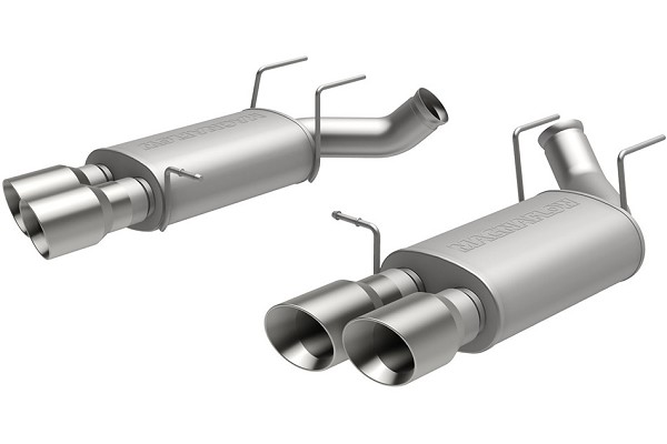 Magnaflow Mustang GT500 Street Axle-Back Exhaust w/ Quad Tips (2013-2014)