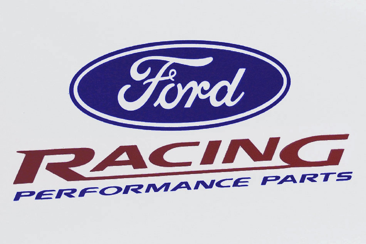 Ford racing decal 6 25 discontinued
