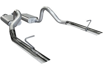 Flowmaster Mustang 3 Chamber Cat-Back Exhaust (85-93 5.0L LX)
