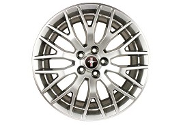 Ford Performance Mustang Performance Pack Wheel - 19x9.5 - Silver (2015) Discontinued