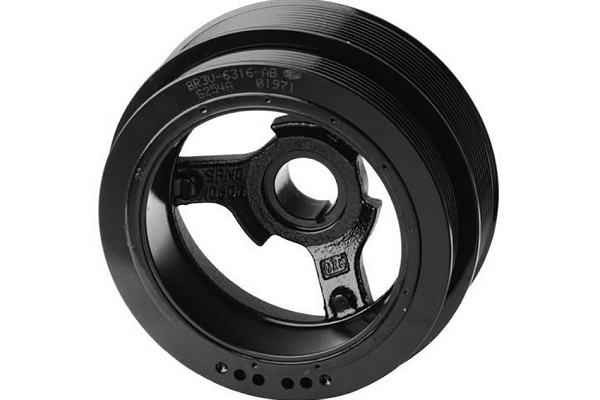 Ford Performance GT500 Mustang Crankshaft Balancer Pulley (07-10 GT500) - DISCONTINUED