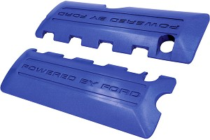 Ford Performance Mustang Boss 302 Blue Coil Cover Pair (2011-2017)