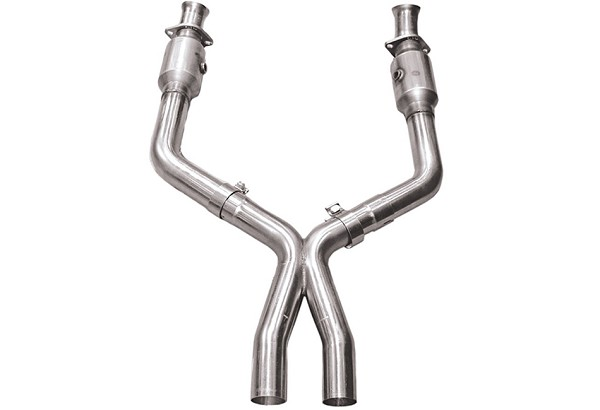 "Kooks 2 1/2"" Stainless Steel Catted X Pipe 4.6L (05-10 GT)"