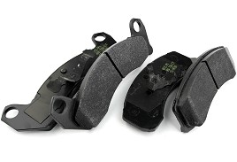 Hawk Racing BLUE Mustang Brake Pads - Front (87-93 All)