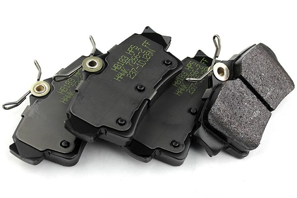 Hawk Racing BLACK Mustang Brake Pads - Rear (94-04 All)