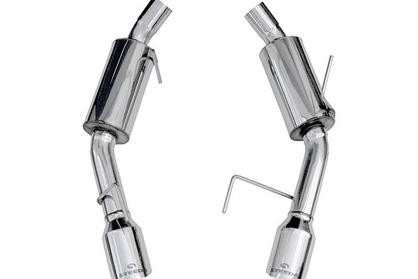 Steeda Mustang Axle-Back Exhaust (05-09 GT)  DISCONTINUED