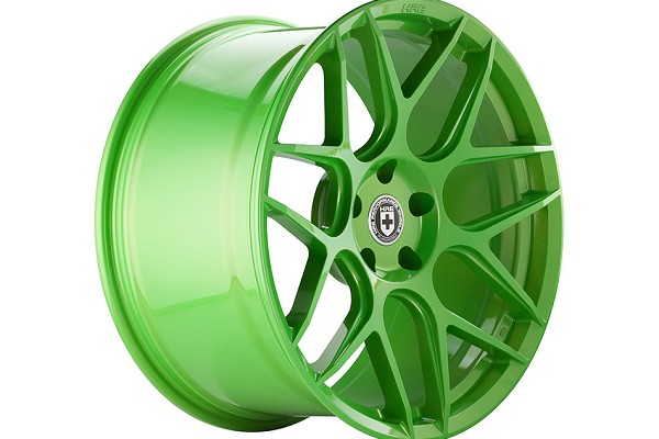 HRE FlowForm FF01 Tequila Lime Mustang Wheel - 20x10.5 (05-20 All)