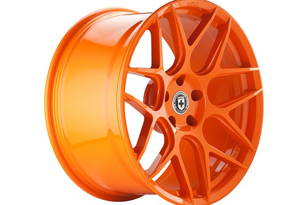 HRE FlowForm FF01 Race Orange Mustang Wheel - 20x9.5 (05-20 All)