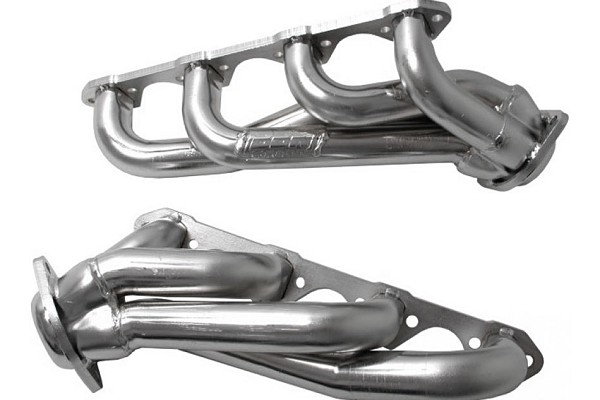 BBK Chrome Unequal Length Shorty Mustang Headers (86-93 5.0L)