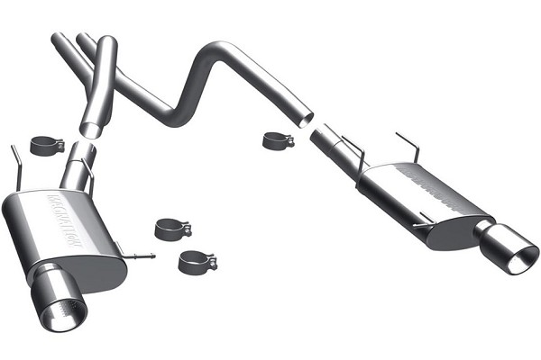 MagnaFlow Mustang V6 Street Series Cat-Back Exhaust (2011-2012)