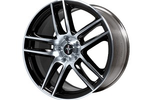 Ford Performance Mustang Boss 302S 19x9 Front Wheel Black w/ Machined Face (05-14)