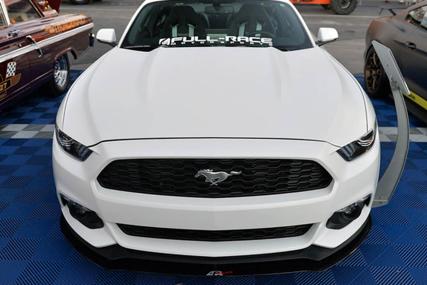 APR Performance Mustang Non-PP Front Wind Splitter (2015 All)