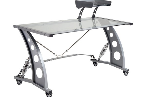 PitStop Silver Desk