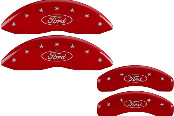 MGP Fusion Red Caliper Covers w/ Bolts (13-18)