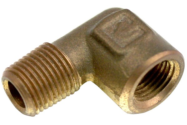 "Mustang 1/8"" NPT 90 Degree Elbow for Electric Gauge Fitting - 86-04"