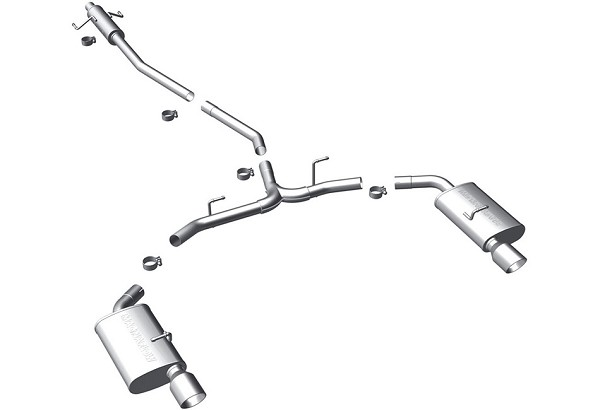 Magnaflow Fusion Cat-Back Exhaust System AWD 3.0L / 3.5L (07-12)