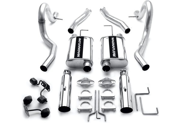 Magnaflow Mustang GT Street Series Cat-Back Exhaust System (1994-1998)