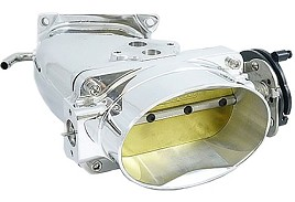 Accufab Mustang Throttle Body & Inlet - Polished (03-04 Cobra)