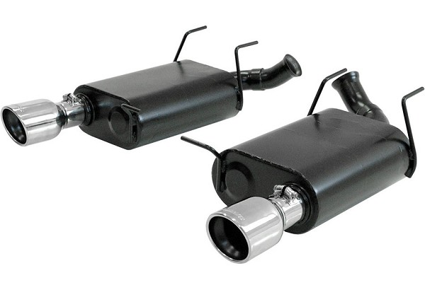 Flowmaster Mustang V6 Force II Axle-Back Exhaust - Dual Exit (2011-2014)
