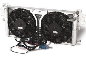 AFCO Dual Fan Mustang Heat Exchanger - 05-14